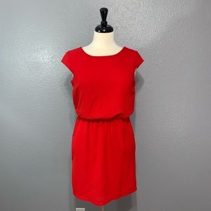 Jodi Kristopher | Cap Sleeve Textured Pocket Dress